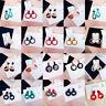 Fashion Boho Women Acrylic Geometric Long Drop Dangle Earrings Statement Jewelry
