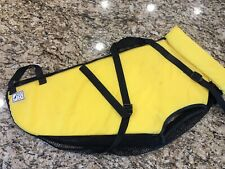 FIDO Float Water Life Jacket For Dogs X-Large XL Size w/ Handle Yellow