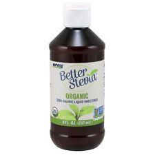 NOW Food- BetterStevia® Organic Liquid Extract - 8 oz.Free Shipping, Made in USA