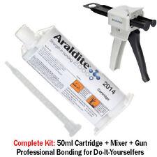 Araldite 2014 High-Temp Chemical-Proof Epoxy Gel-50ml + Dispenser