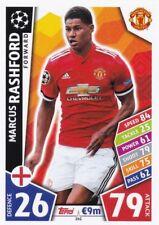 Marcus Rashford  2017-18 Topps Champions League Match Attax,Sammelkarte,#161