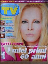 TV Sorrisi e Canzoni n°16 2008 Speciale Copertina Patty Pravo  [D47]