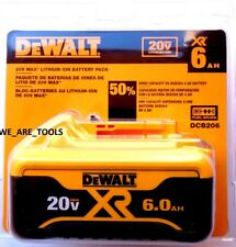 1 NEW IN PACKAGE GENUINE Dewalt 20V DCB206 6.0 AH Battery For Drill, Saw 20 Volt