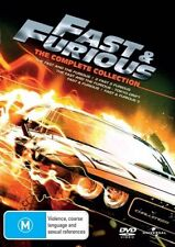 Fast & Furious (DVD, 2011, 5-Disc Set)-the complete collection - Free postage