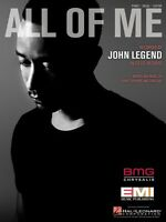 All of Me Sheet Music Piano Vocal John Legend NEW 000126844
