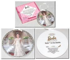 ENESCO - Barbie 1997 - Eliza Doolittle Porcelain Hanging Ornament w/Certificate
