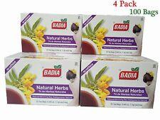 Badia Natural Herbs Slimming Tea - Lose Weight (4 Pack) 100 Bags exp: 08/2018