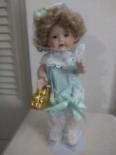 Marie Osmond Melissa Childrens Miracle Network Porcelian Doll Retired. w Box