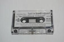 LATIN BomB Squad Cassette Tape Tha Neighborhood Creepas JEEP BEAT PROMO Sampler