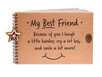 My Best Friend Scrapbook, Photo Album, Memory Book Keepsake, Hen Gift Idea