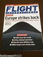 FLIGHT INTERNATIONAL - NEURON UNMANNED COMBAT - JUNE 21 2005