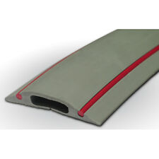 PC240 Cable Floor Cover Protector Rubber Danger Grey & Red 9m