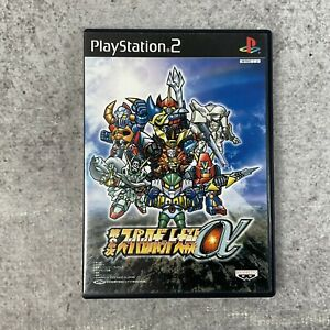 Super Robot Taisen Alpha 2nd Playstation 2 PS2 Japan Import