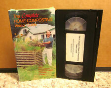COMPLETE HOME COMPOSTING Video Guide hot ecology VHS gardening & worms Stenn