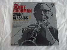 BENNY GOODMAN LP - SWING CLASSICS 1 ( PHILIPS 870 000 BFY )