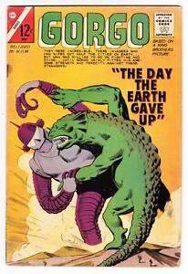 GORGO #18 -  Charlton 1964 monster comic - Montes & Bache - VG/F