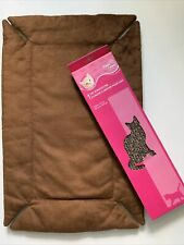 Free Scratcher+Soft Fleece Reflective Self-Warming Pet Cat Dog Crate Bed Pad K&H