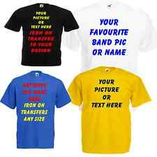 Personalised Iron on garment film your own text, design or logo T shirt transfer