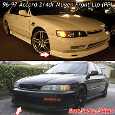 Mu-gen Style Front Bumper Lip (PP) Fits 96-97 Honda Accord
