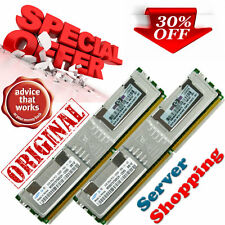 ORIGINALE HP 4gb (2 x 2gb) pc2 5300f ECC Fully Buffered 398707-051 416472-001 essere