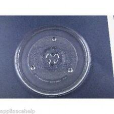 "Universal Sharp Microondas Tocadiscos Placa De Vidrio Plato 270 mm 27cm 10.5 """