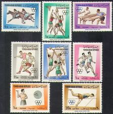 Yemen 1964 Sport/Olympics/Olympic Games/Basketball/Football/Horses 8v set (37393