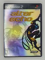 Alter Echo (Sony PlayStation 2, 2005) PS2 w/ Case No Manual