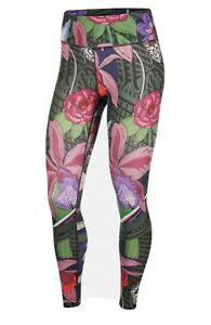 Nike One Tight Fit Icon Clash One Floral Leggings Size Xs In Women...