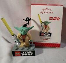 Lego Yoda 2013 Hallmark Keepsake Star Wars Christmas Tree  ornament