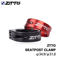 ZTTO MTB Road Bike Seatpost 31.8/34.9mm Aluminium Seat Clamp Seat Post Tube Clip