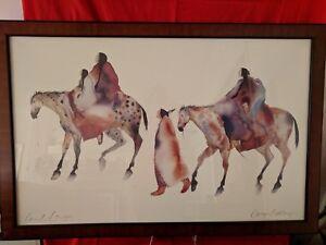 "Carol Grigg prints'Woman of Tarahumana / Mexico"""