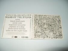 Three Blind Wolves Sound Of The Storm cd Digipak 2011 Ex Condition