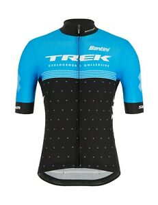 2020 Trek CXC Factory Racing Fan Line Cycling Jersey Made in Italy by Santini