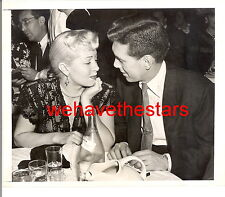 Vintage Lana Turner Bob Hutton DATE AT EMBASSY CLUB '46 CANDID Press Portrait