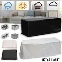 """87""""x41""""x41"""" Waterproof Outdoor Furniture Sofa Piano Table Chair Cover Protection"""