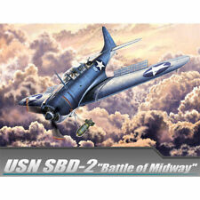 [Academy] 12335 1/48 USN SBD-2 Battle of Midway Aircraft Plastic Model Kit