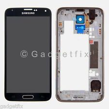Samsung Galaxy S5 i9600 G900A LCD Display Touch Screen Digitizer + Frame Bezel