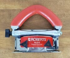 Roberts 10-616 Carpet Trimmer, Red Handle
