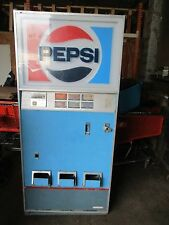 Vintage Pepsi Pepsi-Cola Can Vending Machine Cavalier Model C6-390-228 Tall Boy