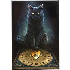 His masters voice lisa parker plaque murale chat noir fantasy art toile photo