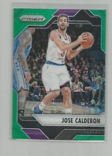 2016-17  Prizm  JOSE CALDERON   Green Prizm