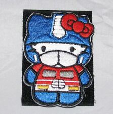 Transformers G1 Optimus Prime Hello Kitty Patch Brand New Cute Adorable Kawaii