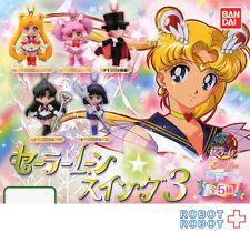 Sailor Moon Swing Part.3 x5 pcs Set Keychain Figure Bandai Gashapon Japan