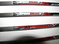 """6 Carbon Express Speed Freak 20"""" Crossbow Bolts 310 grains HALF MOON NOCK ONLY"""