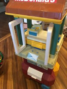 McDonalds drive thru playset - 1989 Vintage - Sounds All Work!