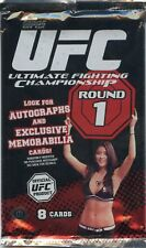 2009 TOPPS UFC ROUND 1 PACK WRAPPER **NO CARDS*  COLLECTOR ITEM RARE FROM BOX
