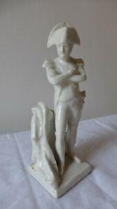 """Napoléon Bonaparte. Statuette porcelaine blanche Paris. 18 cm. Epoque Empire.7"""""""