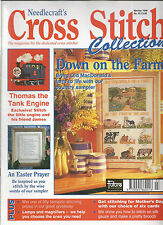 CROSS STITCH COLLECTION MAGAZINE # 22 - FARM - THOMAS THE TANK ENGINE - EASTER
