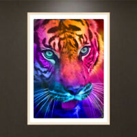 Tiger 5D Full Diamond Embroidery Paintings DIY Cross Stitch Painting Home Decor