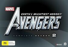 The Avengers - Earth's Mightiest Heroes : Season 2 (DVD, 2015, 4-Disc Set)